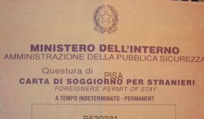 Vogliaditerra agosto 2005 for Documenti per richiesta carta di soggiorno