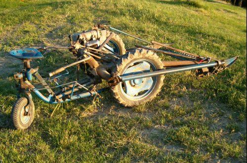 Restaurare una vecchia motofalciatrice bcs macchine per for Bcs 602 con piatto taglia trincia erba