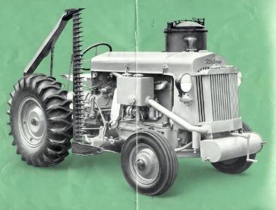 trattore a legno