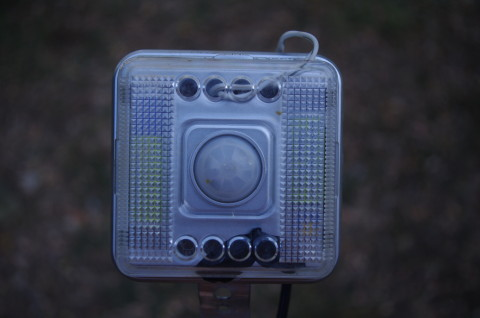 sensore infrarossi fototrappola
