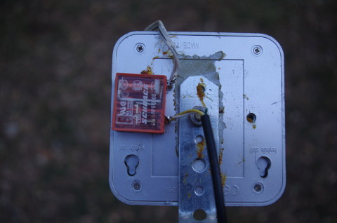 sensore infrarossi con relais
