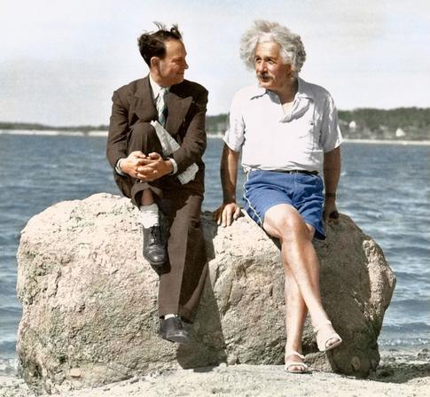 Einstein in vacanza